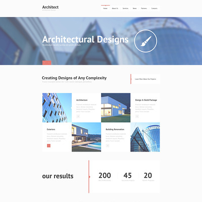 Construction Company Responsive Joomla Template (Joomla template for architecture ) Item Picture