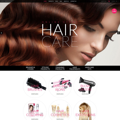 Cosmetics Store Responsive Shopify Theme (Shopify theme for cosmetics and beauty products) Item Picture