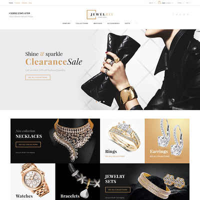Jewelrix (PrestaShop theme for jewelry stores) Item Picture