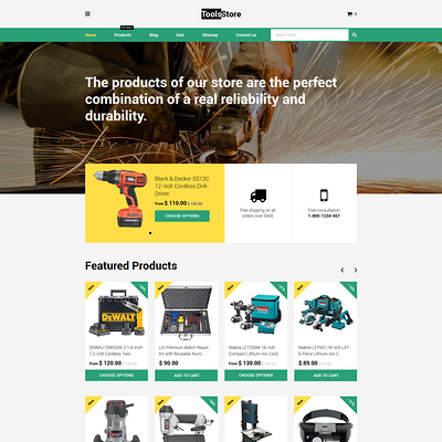 ToolsStore Shopify Theme (Shopify theme for tools and home improvement stores) Item Picture