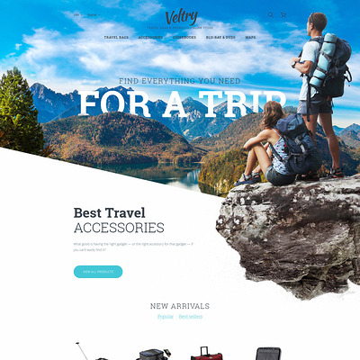 Veltry (PrestaShop theme for travel websites) Item Picture