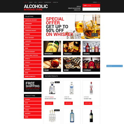 Your Beverage Store Shopify Theme (Shopify theme for wine, coffee, juice, tea, and other drinks) Item Picture