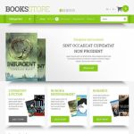best opencart themes book stores feature