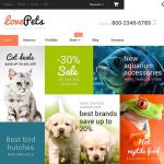 best woocommerce themes pets animals feature