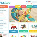 best opencart themes kids toys feature