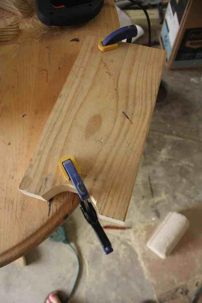 Small DIY Bench