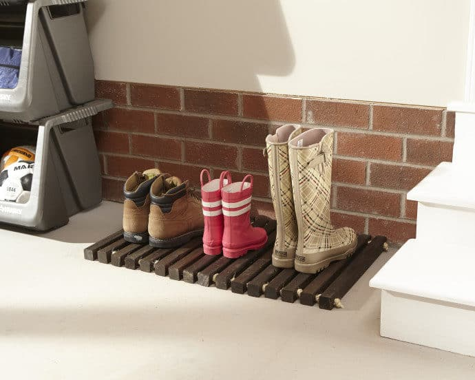 Home Depot's Workshop Virtual Party: DIY Wooden Door Mat