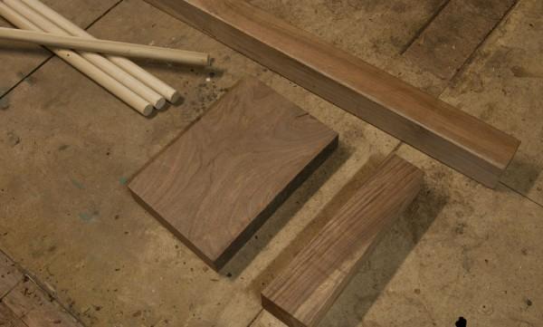 Kubb-materials