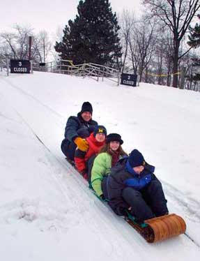 toboggan-sled