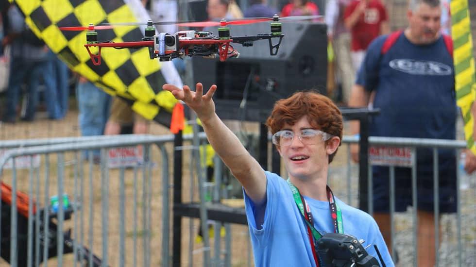 Battle Drones at Maker Faire