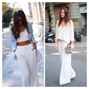 Street Style: Blanco total