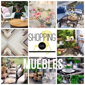 Shopping Guide: Muebles Para Patios y Terrazas