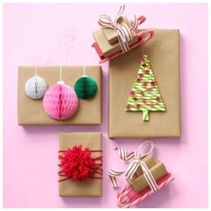 En imágenes: 5 formas originales de envolver los regalos navideños