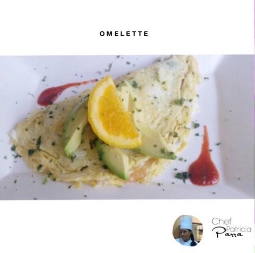 Omelette hecho en casa