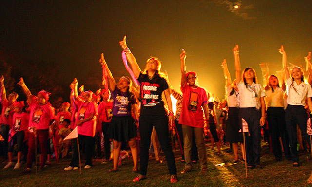 Philippines joins One Billion Rising for Justice