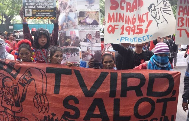 'Apec means global mining plunder'