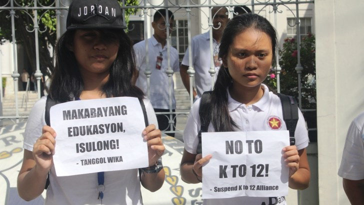 Duterte's Administration and K12