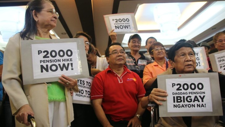 'House leadership castrates congressional power for Aquino's veto on SSS pension hike'