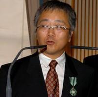 Katsuhiro Otomo décoré par un ministre otaku