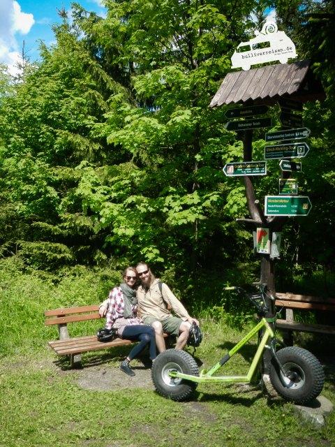 Monsterroller Oberwiesenthal