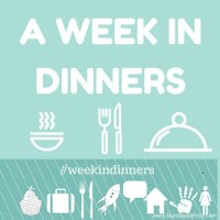 A Week in Dinners- 2016/1
