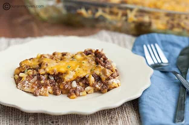 Barbecue Beef Bake