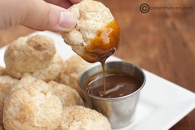 Cinnamon Biscuit Balls