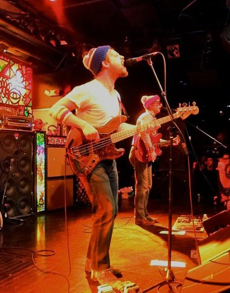 Dr. Dog belts out their new album, Shame, Shame, at the Paradise Rock Club. | Photo by Ali Weltman