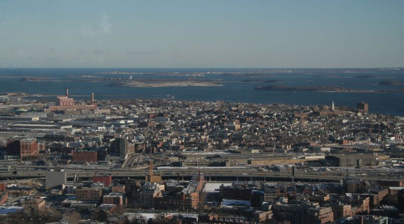 South Boston From Afar. From Wikipedia.org