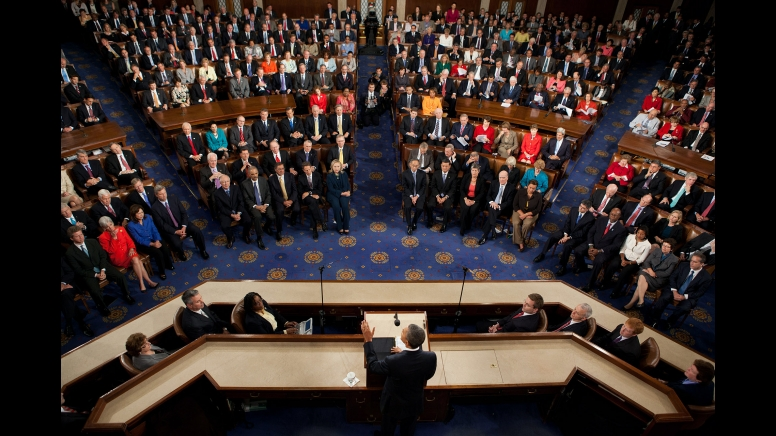 President Obama addresses a joint session of Congress | Photograph Courtesy of Wikimedia Commons