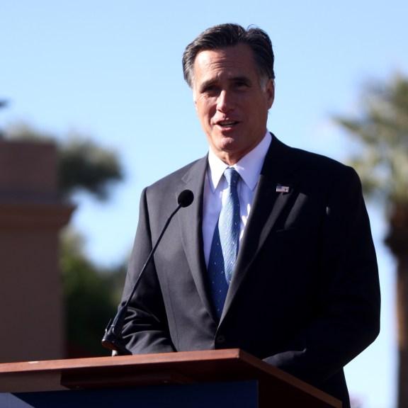 Mitt Romney in Arizona