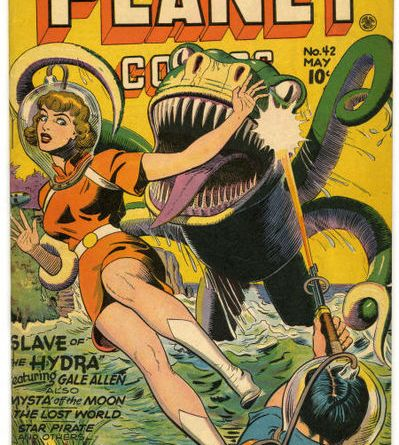 An example of a funky, Golden Age comic | Cover courtesy of Wikimedia Commons user Chordboard