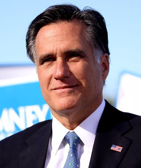 Say it with me: Mitt Romney, the nominee-to-be. Catchy, isn't it?   Photo courtesy of Wikimedia Commons