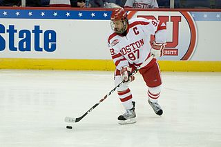 BU Men's Hockey | Photo courtesy of Marcusvfx via Wiki Commons