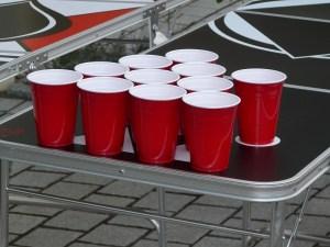 Beer Pong Setup