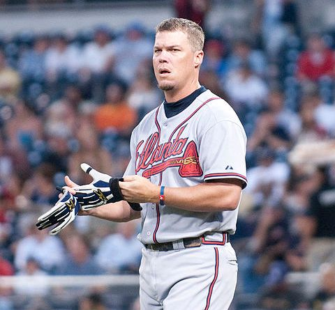 The Legend, Chipper Jones | Photo Courtesy of Flickr user SD Dirk, via Wiki Commons