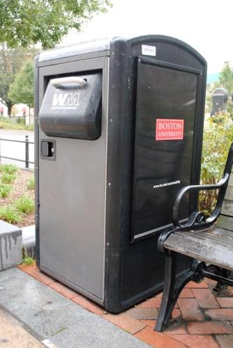 BU BigBelly Solar Compactor