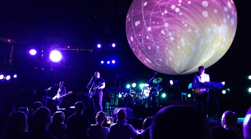 The Smashing Pumpkins at Agganis Arena - photo by Burk Smyth