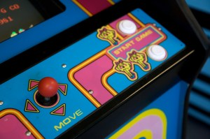 Mrs. Pac-Man Arcade Machine