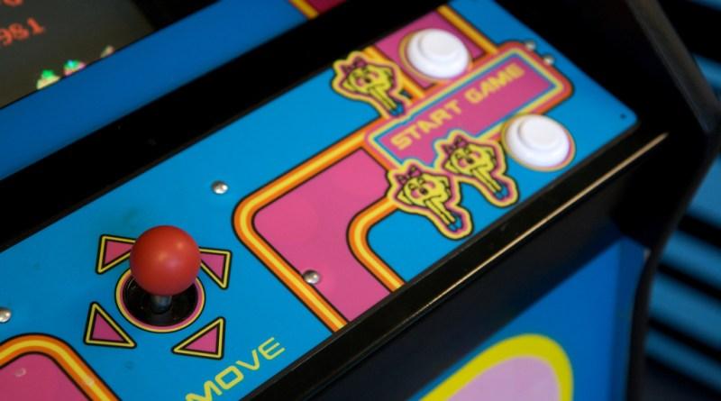 Mrs. Pac-Man Arcade Machine