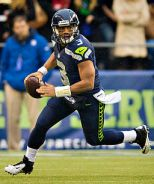 Seattle QB Russell Wilson | Photo Courtesy of Larry Maurer via Wiki Commons