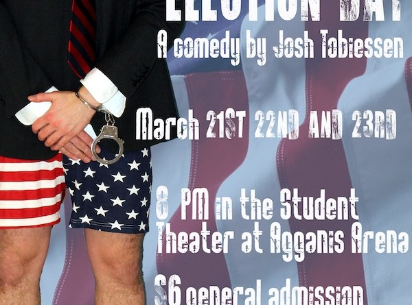 Election Day, a comedy written by Josh Tobiessen was directed by Joe Reed (CAS '14). | Image by Producer Joe Gambino