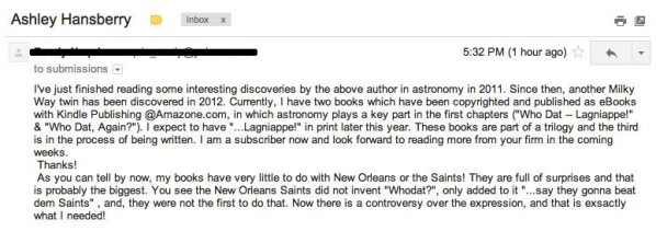 What do the saints have to do with astronomy? Ask a robot, I guess. | Image courtesy Jon Christianson.