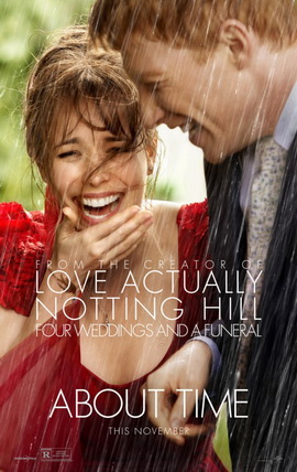 About Time movie poster | promotional photo courtesy of Universal Pictures