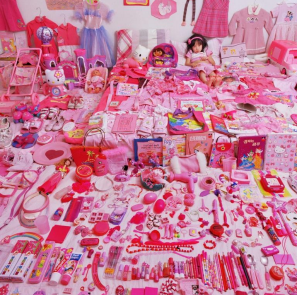 SeoWoo and Her Pink Things  JeongMee Yoon 2006 Photograph © Museum of Fine Arts, Boston and Jenkins Johnson Gallery