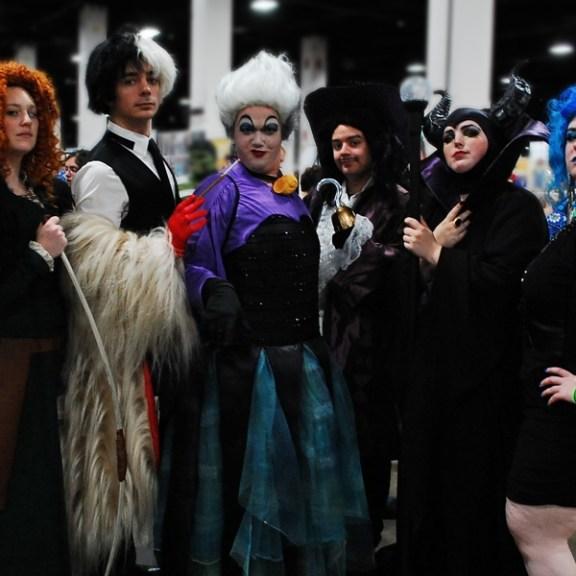 A Collection of Disney Villans