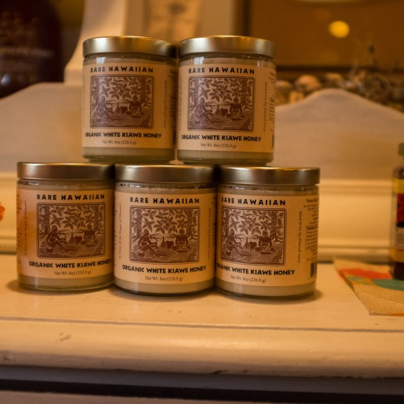 Frosting-like honey from the Hawaiian Kiawe forests by Madeline Keyes-Levine.