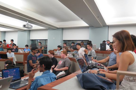 BU's gaming community comes together every Saturday night for some friendly competition   Photo by Nicholas Chen