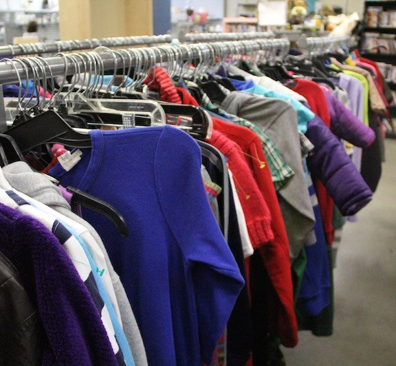 Children are quick to outgrow clothing, which the full stock of children's apparel at Goodwill proves. Parents can contribute to thrift culture by donating or selling clothing their children have outgrown, and also purchase clothing that their children will wear for shorter periods of time at lower prices.