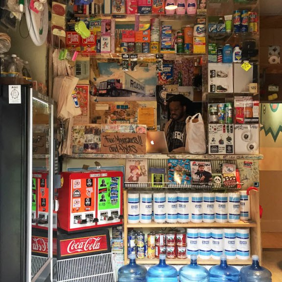 This may look like your average bodega, but none of these items are for sale. | Photo by Siena Tauber